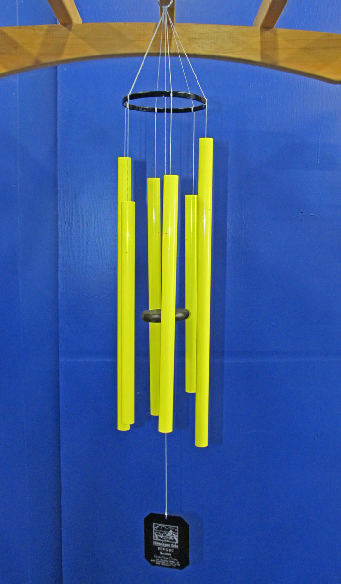 3SY :: Small Himalayan Echo Yellow Wind Chimes